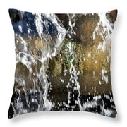Mossy Pipes Throw Pillow
