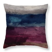Most Of All- Abstract Art By Linda Woods Throw Pillow