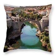 Mostar Throw Pillow
