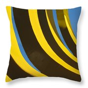 Mostly Parabolic Throw Pillow by Rick Locke