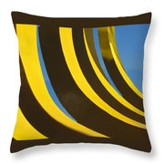 Mostly Parabolic Throw Pillow