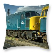 Mostly Peaks  Throw Pillow