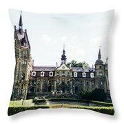 Moszna Panorama Throw Pillow