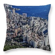 Mote Carlo Monaco Throw Pillow