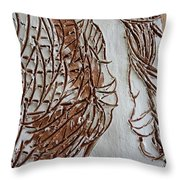 Mother And Son - Tile Throw Pillow