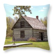 Mother Barnes House Throw Pillow