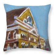Mother Church Throw Pillow