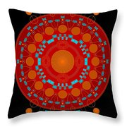 Mother Color Throw Pillow