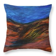 Mother Earth, Father Sky Throw Pillow