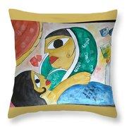 Mother Love Throw Pillow
