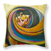 Mother Love,mothers Lap Throw Pillow