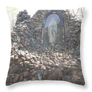 Mother Mary Throw Pillow