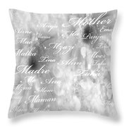 Mother Mother Throw Pillow