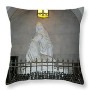 Mother Mourns Throw Pillow