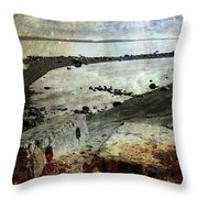 Mother Nature Rules Throw Pillow