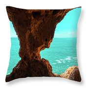 Mother Natures Fantabulous Art Throw Pillow