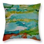 Mother Ocean Throw Pillow