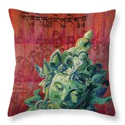 Mother Of All The Victorious Ones Throw Pillow