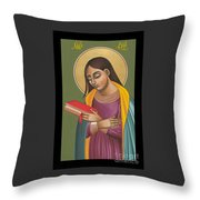 Mother Of God After Fra Angelico 168 Throw Pillow