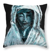 Mother Of Sorrows Throw Pillow