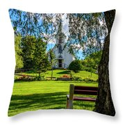 Mother Of Sorrows Pioneer Shrine Throw Pillow