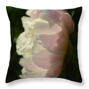 Mother Peony Full Bloom 2015 Throw Pillow