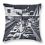 Mother Theresa's Throw Pillow