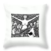 Mother... Wife... And Lover... Throw Pillow