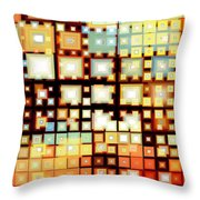 Motherboard Throw Pillow by Shawna Rowe