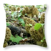 Motherload Throw Pillow