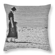 Mother's Child 2 Throw Pillow