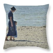 Mother's Child Throw Pillow
