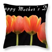 Mothers Day Card 2 Throw Pillow
