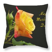 Mothers Day Card 4 Throw Pillow