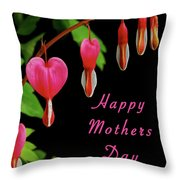 Mothers Day Card 6 Throw Pillow