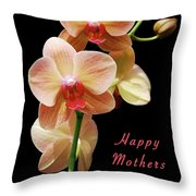 Mothers Day Card 8 Throw Pillow