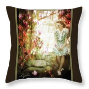 Mother's Day - Remembering Lydia Throw Pillow