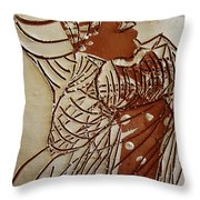 Mothers Glow - Tile Throw Pillow