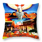 Mother's House Throw Pillow