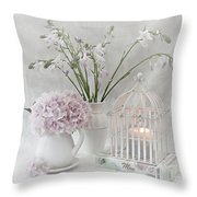 Mother...tell Me Your Memories Throw Pillow