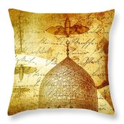 Moths And Mosques Throw Pillow