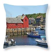 Motif #1, Rockport Ma, 2 Throw Pillow