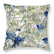 Motif Japonica No. 10 Throw Pillow