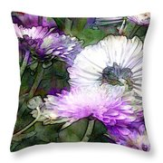 Motif Japonica No. 12 Throw Pillow