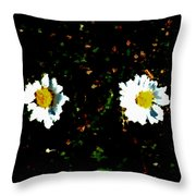Motif Noir No. 1 Throw Pillow