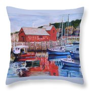 Motif Number One Throw Pillow