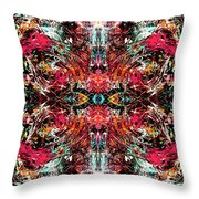 In Motion Throw Pillow