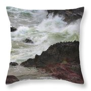 Motion Of A Wave Throw Pillow