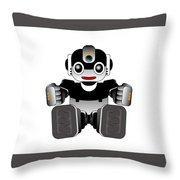 Moto-hal Throw Pillow