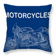 Moto Quotes Throw Pillow